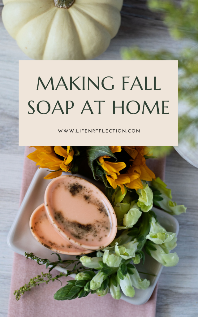 Make a pumpkin spice soap recipe that will lather you up in all the fall cozy feels.