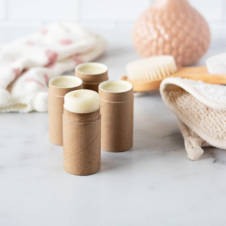 Get overnight relief with this cracked heel balm stick recipe!