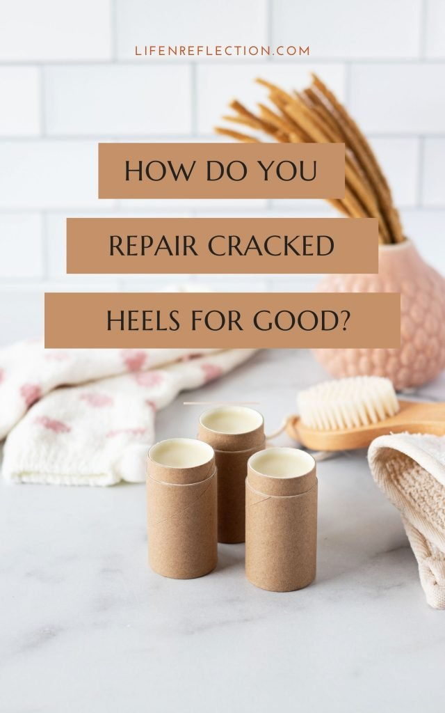 How do you repair cracked heels? Look no further than this cracked heel balm stick recipe, it is the ULTIMATE cracked heel remedy!