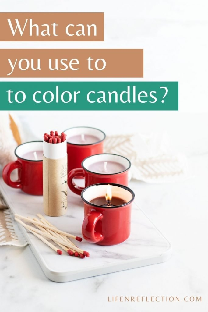 What can you use to color candle wax?