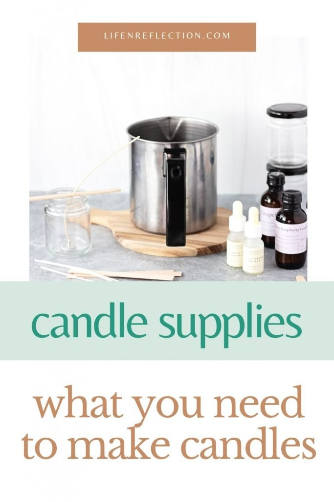 What do you candle making supplies do you need to make candles at home?
