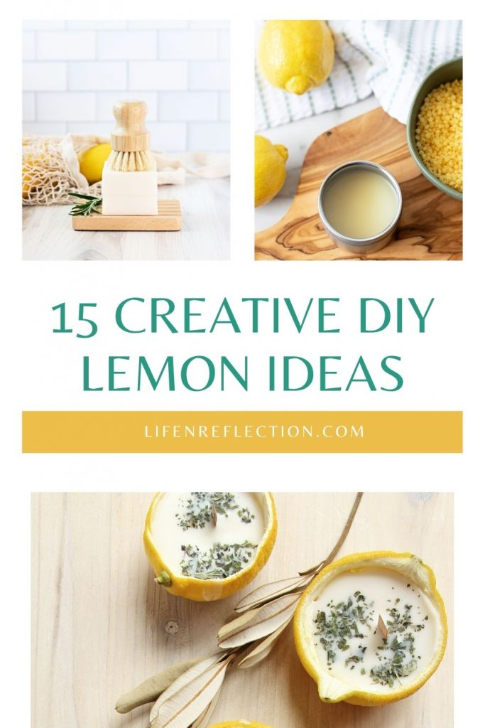If you were wondering what to do with lemons, look no further than these 15 lemon DIYs. You'll find a little bit of everything to make inexpensive, fun, and useful lemon gift ideas for friends, teachers, and family alike.