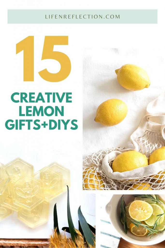 There are so many ways to use lemons outside of lemonade. I imagine you'll never find yourself wondering what to do with leftover lemons again.  You might start buying them in bulk after devouring these lemon craft ideas!
