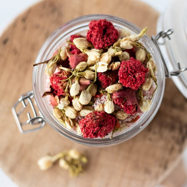 How do you make a homemade milk bath? It begins with milk and ends with ahh… you'll bask in our milk bath recipe and moon ritual of pomegranate and jasmine.