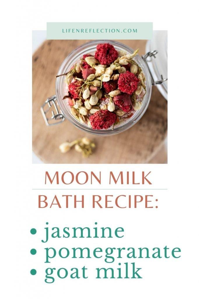 Milk Bath Recipe & Moon Ritual - a Luminous Soak for Body, Mind, and Soul