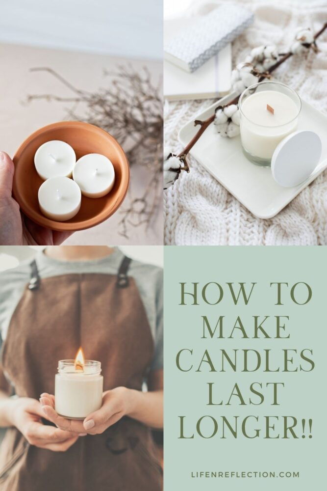These five tips to make a candle last longer can make a big difference!