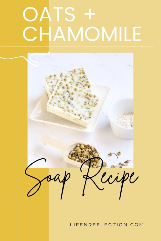 Take the old wives' tale of healing oatmeal baths and pair it with the benefits of honey, chamomile, and goats milk in this easy melt and pour soap recipe to quickly calm and soothe dry skin.