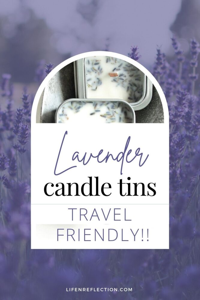 You'll never leave home without a travel candle after you've tried one!
